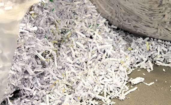 Destruição de Papel de Arquivo
