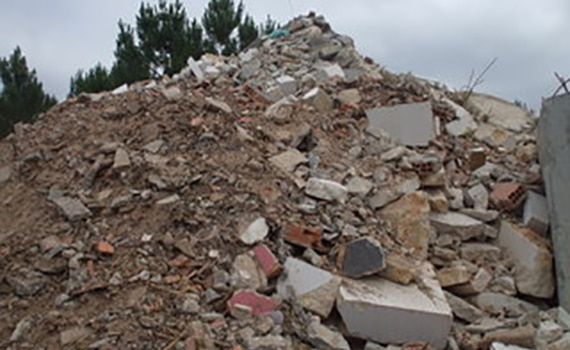 RCD - Resíduos de Construção e Demolição